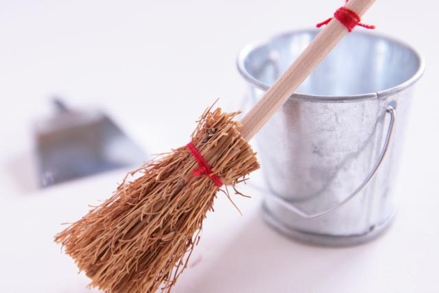 引越し後の掃除も運気に重要