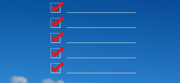 引っ越し前にやることチェックリスト