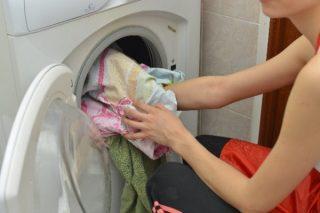 洗濯機は8分目が目安