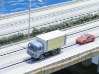 単身専用コンテナとトラック輸送