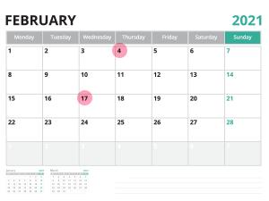 2月の引っ越しは上旬~中旬が安い!最もお得な日は?<